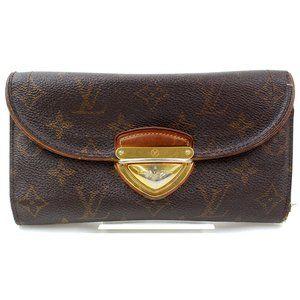 Auth Louis Vuitton Eugene Long Wallet #3318L80